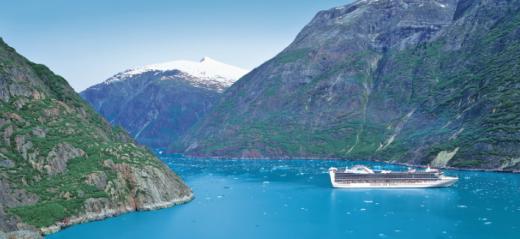 """冰河世纪—公主邮轮""""红宝石公主号""""美国阿拉斯加+加拿大12日之旅"""