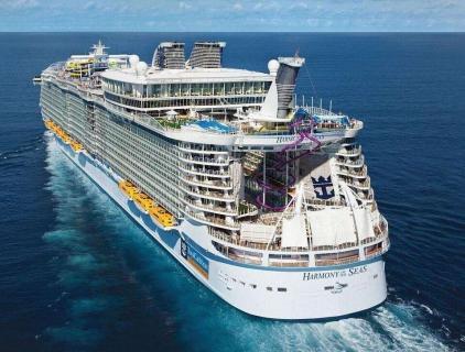 """联合发团---皇家加勒比游轮""""海洋和悦号""""美国东西部+南部18日之旅"""